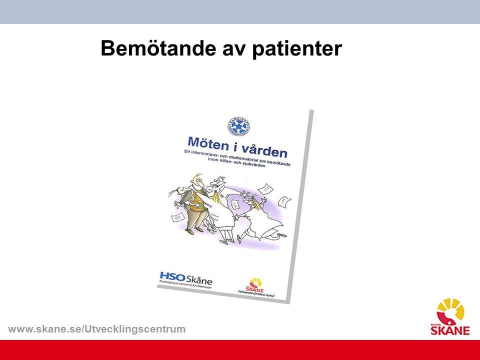 Bemötande av patienter