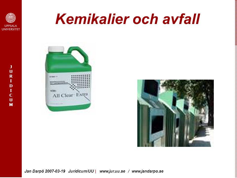 Kemikalier och avfall