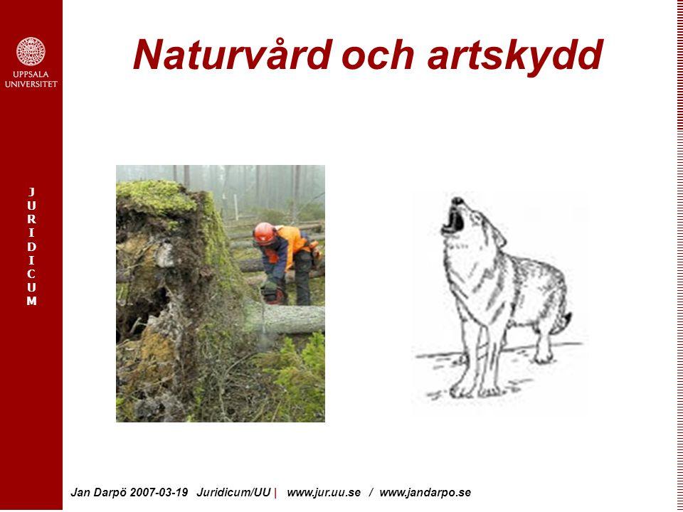 Naturvård och artskydd