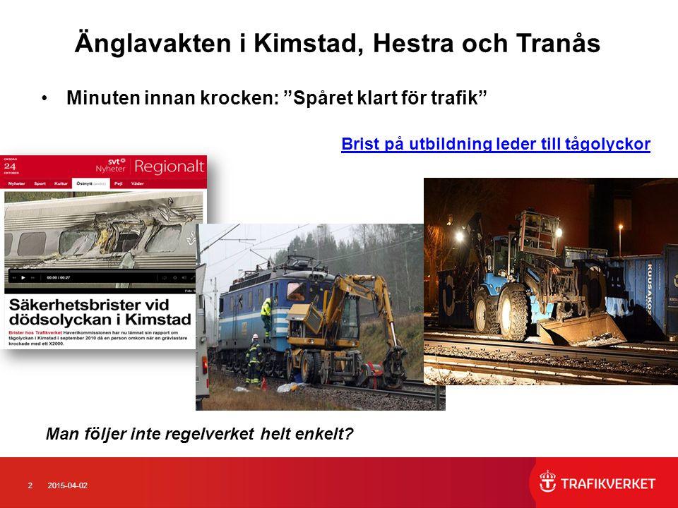 Änglavakten i Kimstad, Hestra och Tranås