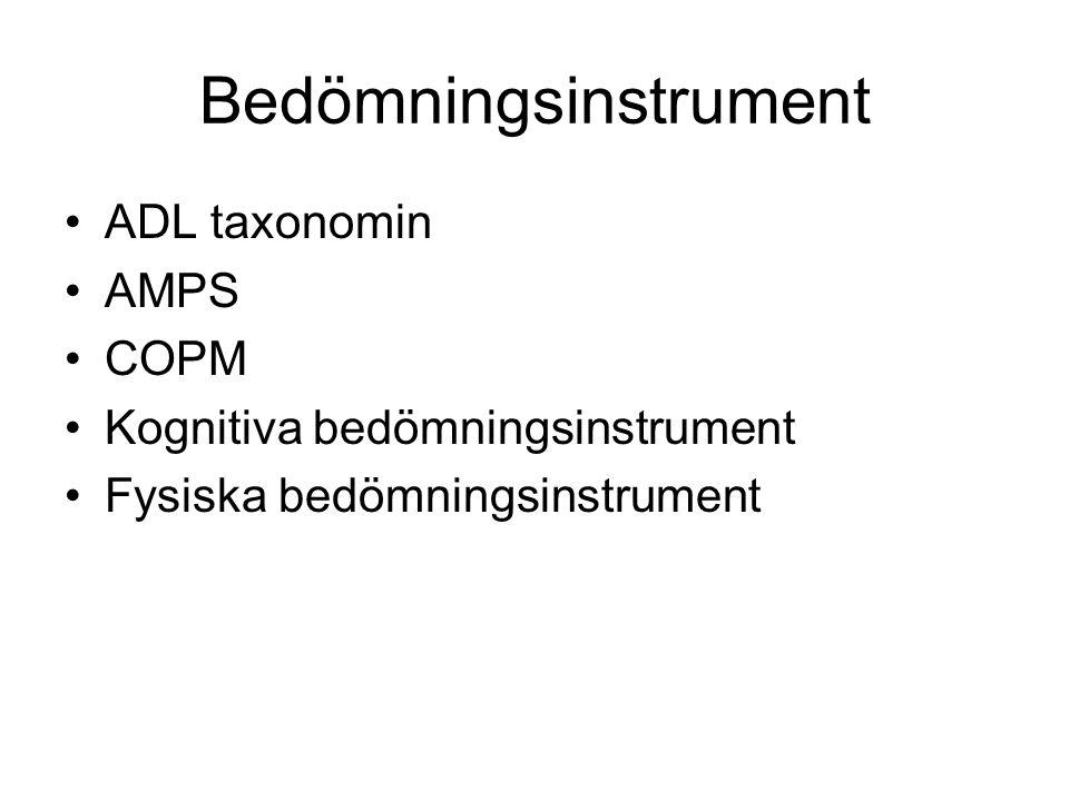 Bedömningsinstrument