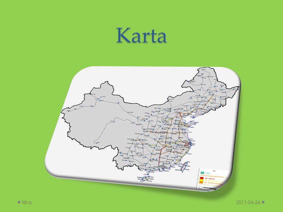 Karta Kina 2011-06-26