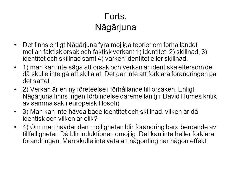 Forts. Nāgārjuna
