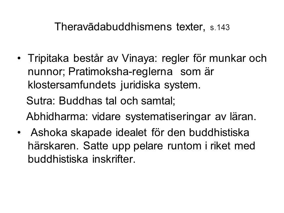 Theravādabuddhismens texter, s.143