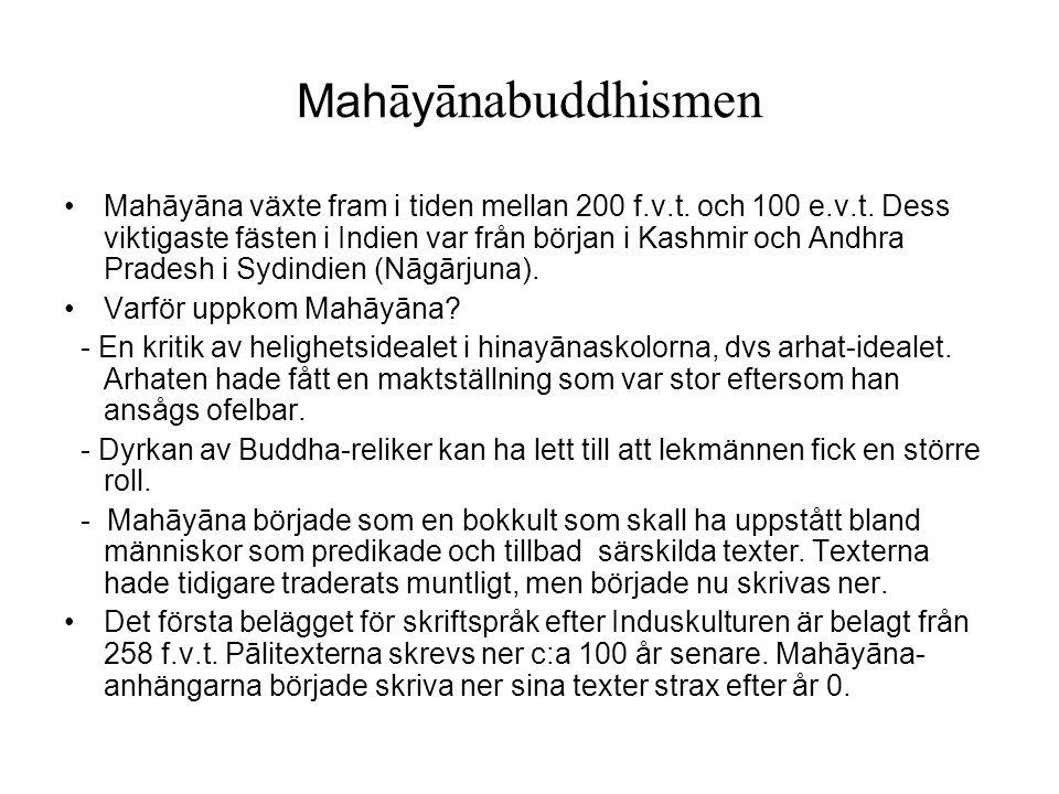 Mahāyānabuddhismen