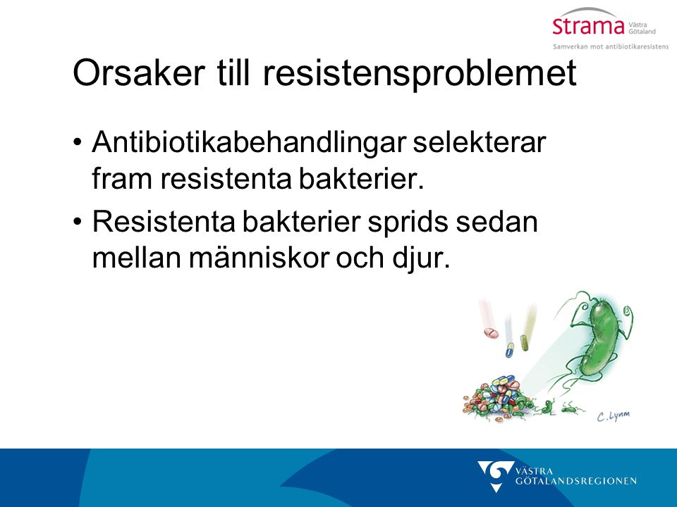 Orsaker till resistensproblemet
