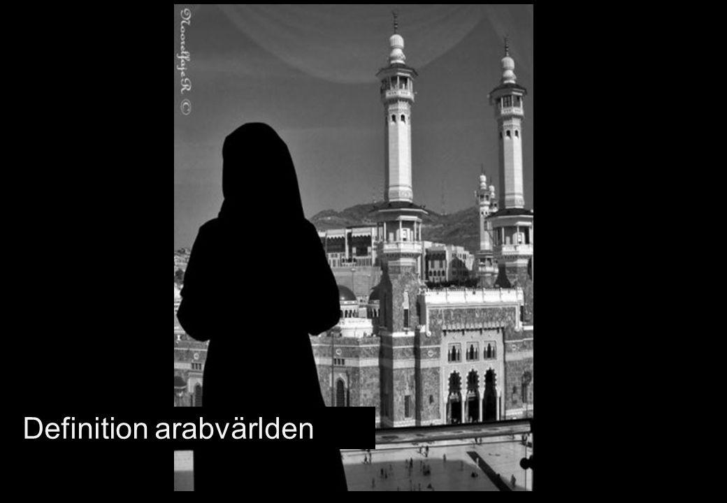 Definition arabvärlden