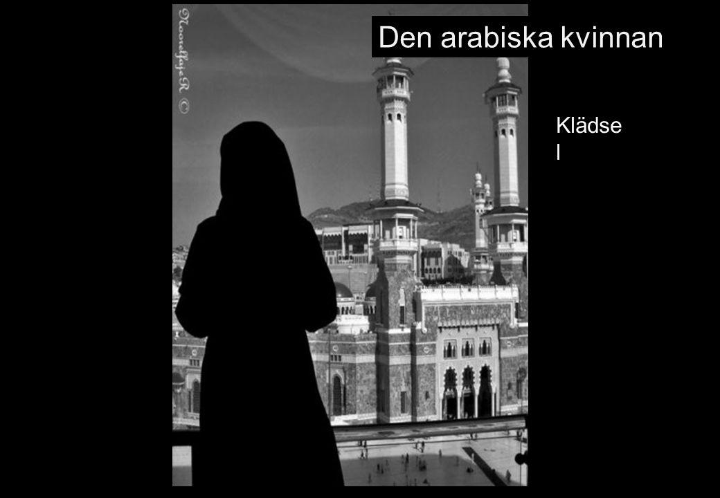 Den arabiska kvinnan Klädsel 69