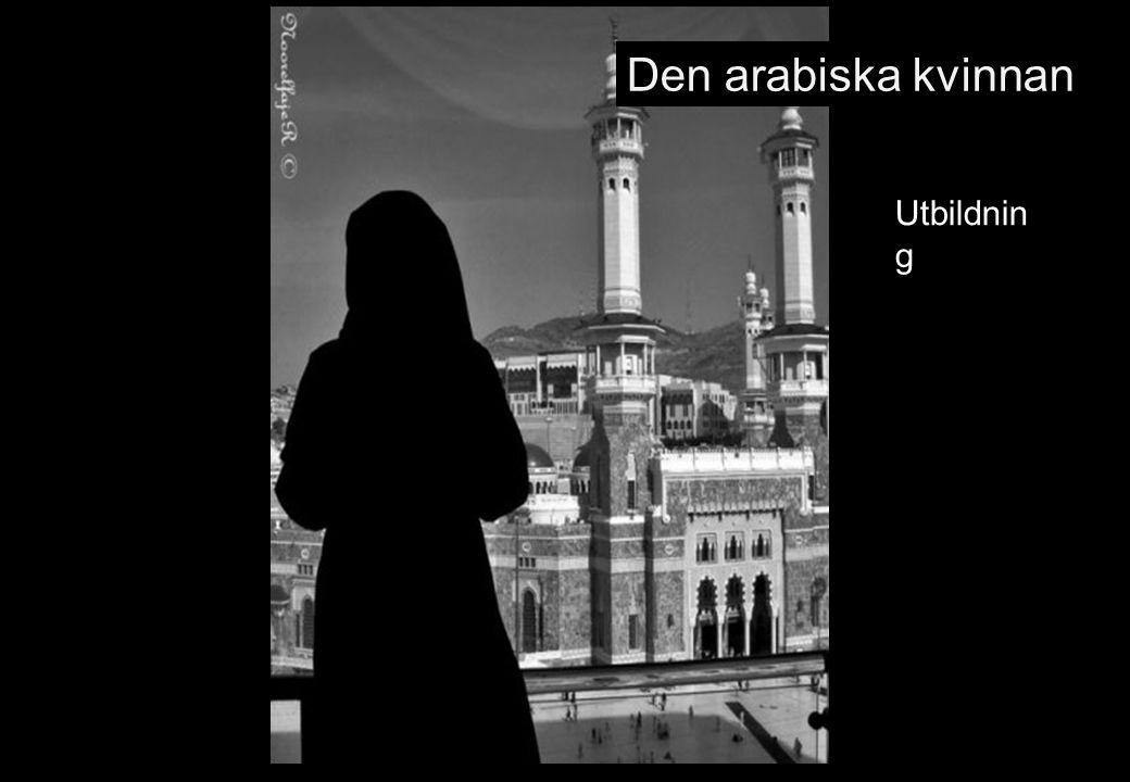 Den arabiska kvinnan Utbildning 75