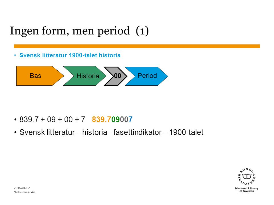 Ingen form, men period (1)