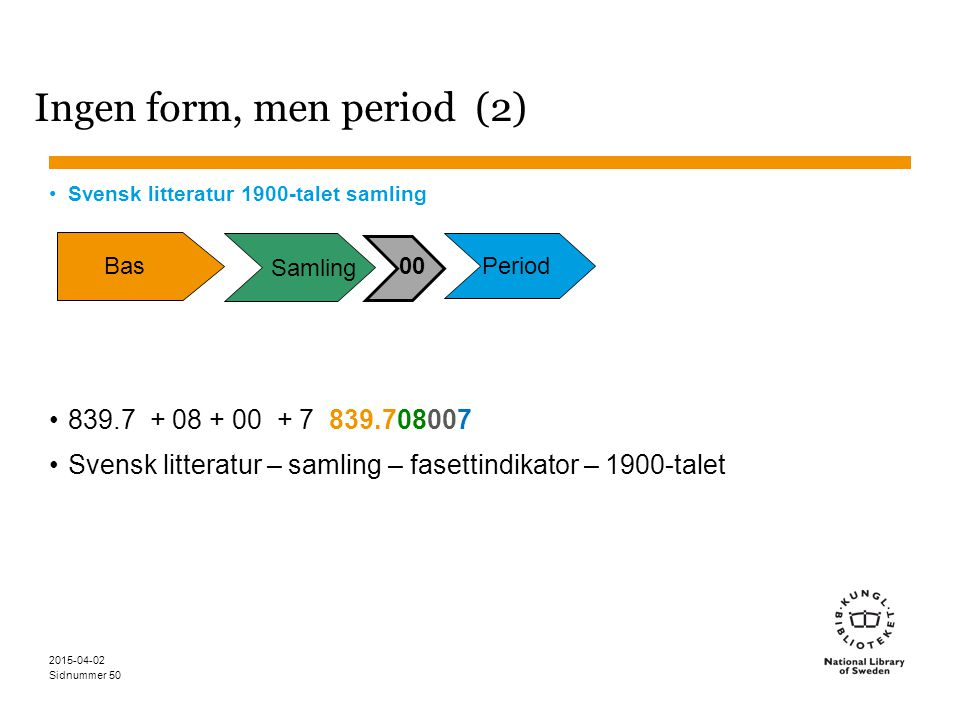 Ingen form, men period (2)