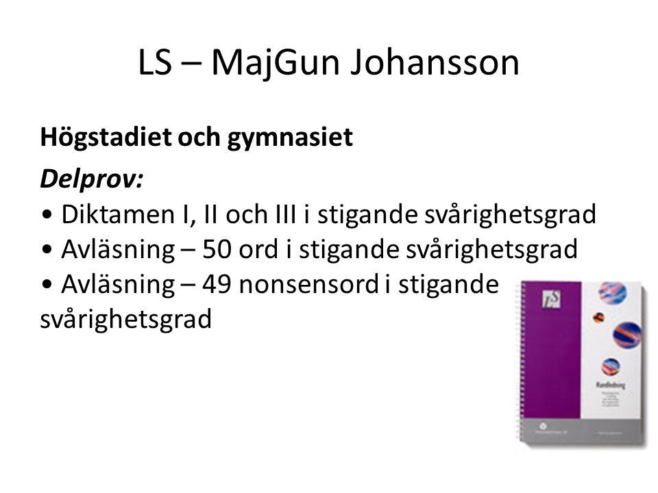 LS – MajGun Johansson