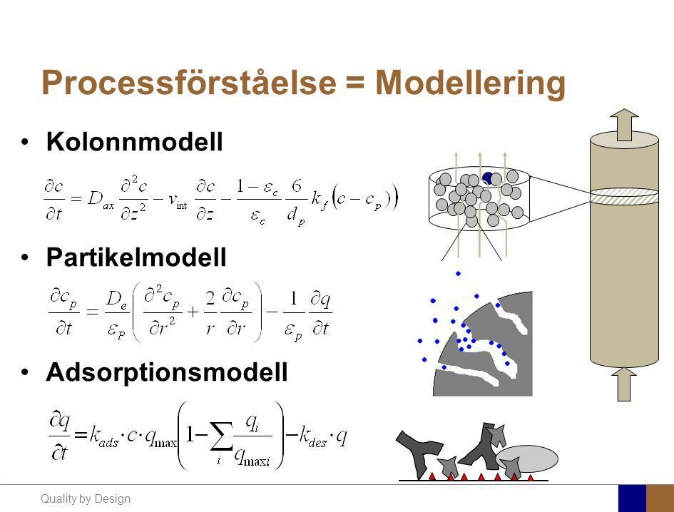 Processförståelse = Modellering