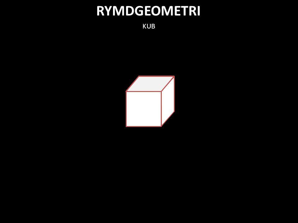 RYMDGEOMETRI KUB