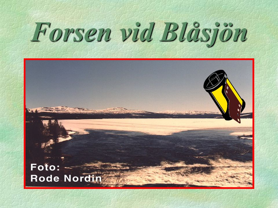 Forsen vid Blåsjön