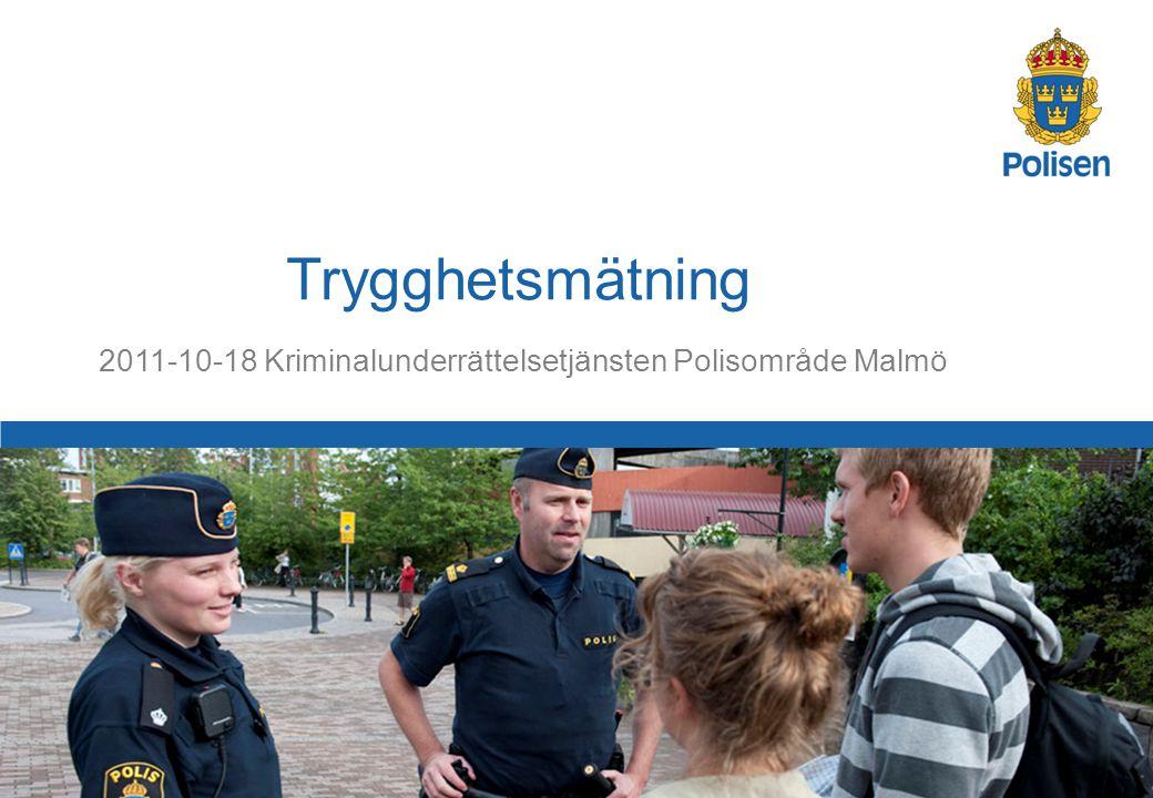 2011-10-18 Kriminalunderrättelsetjänsten Polisområde Malmö