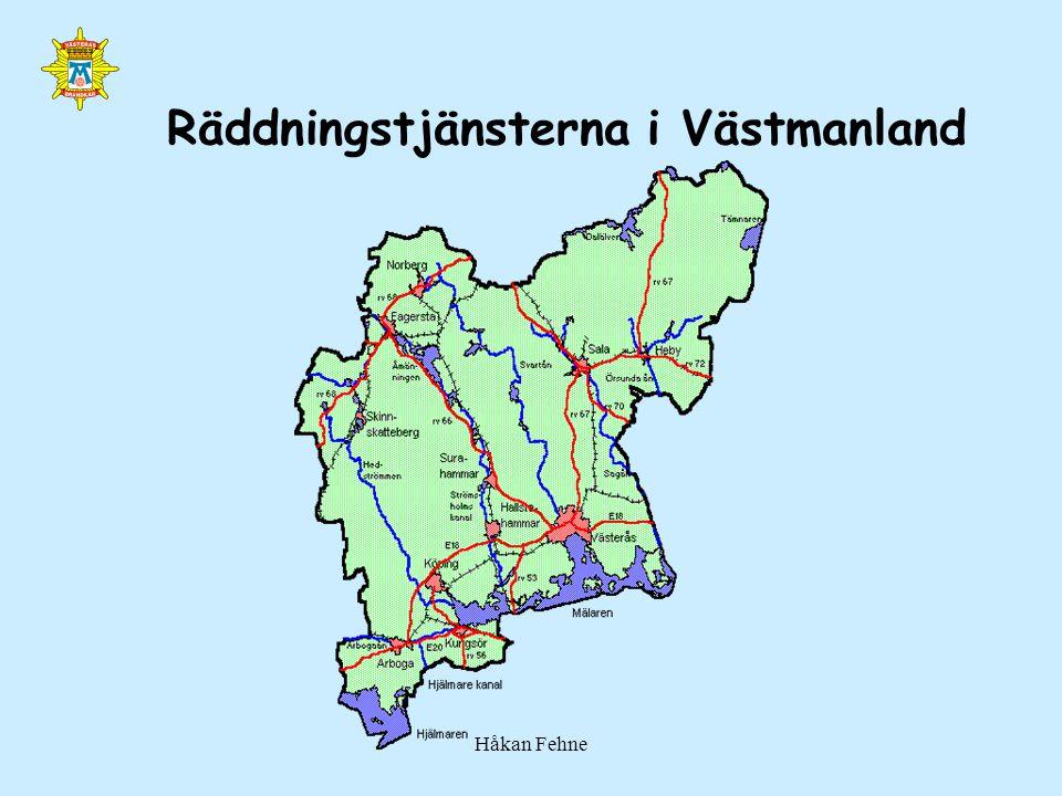 Räddningstjänsterna i Västmanland