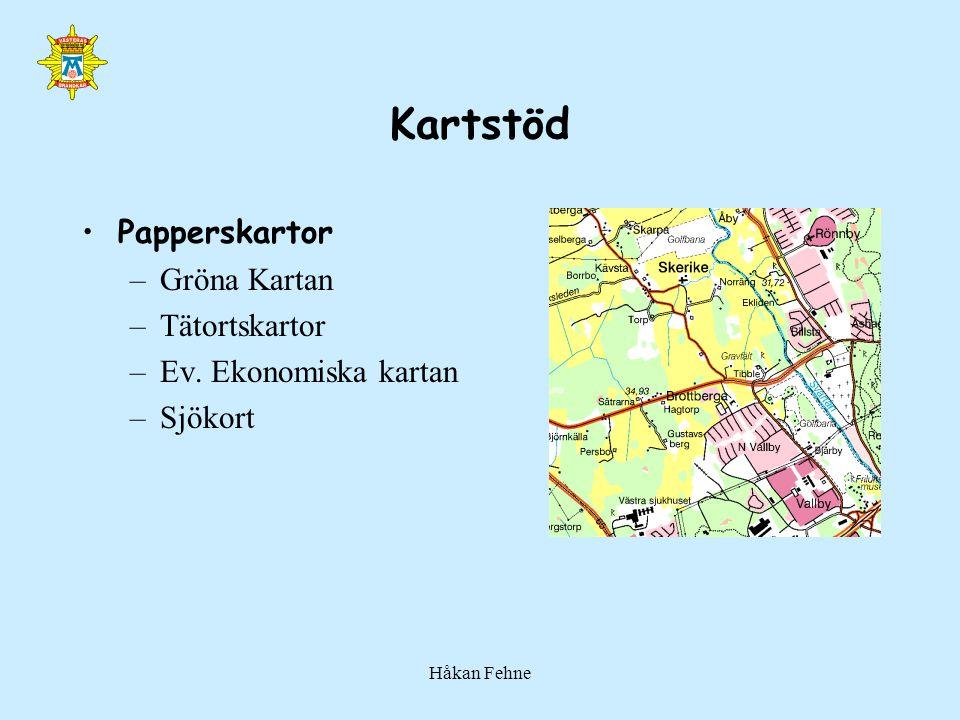 Kartstöd Papperskartor Gröna Kartan Tätortskartor