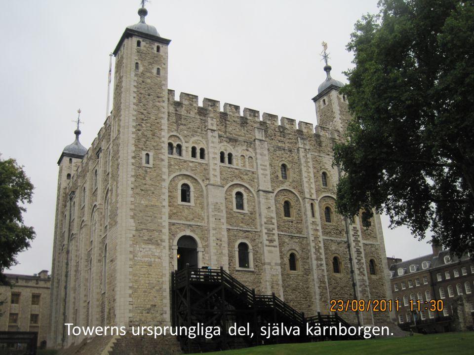 Towerns ursprungliga del, själva kärnborgen.