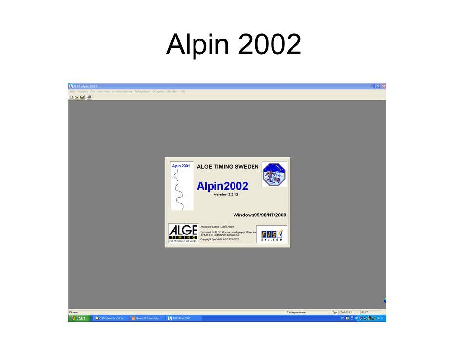 Alpin 2002