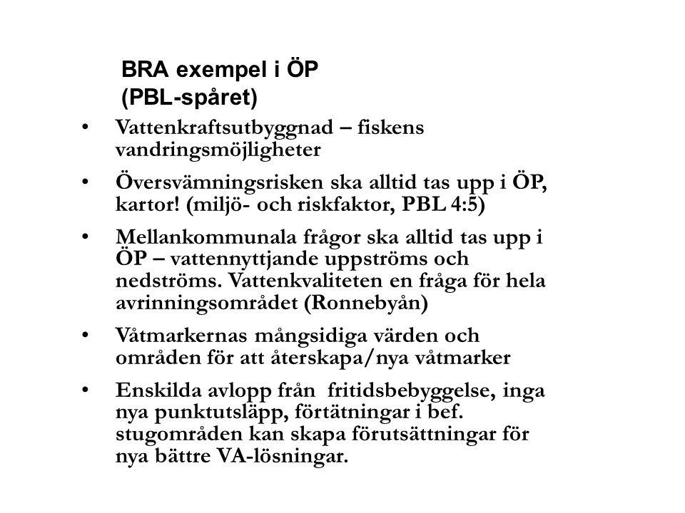 BRA exempel i ÖP (PBL-spåret)