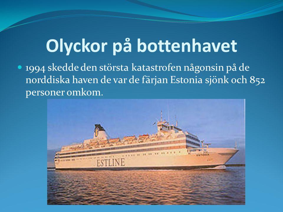 Olyckor på bottenhavet