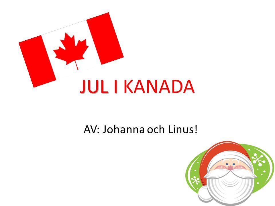 JUL I KANADA AV: Johanna och Linus!