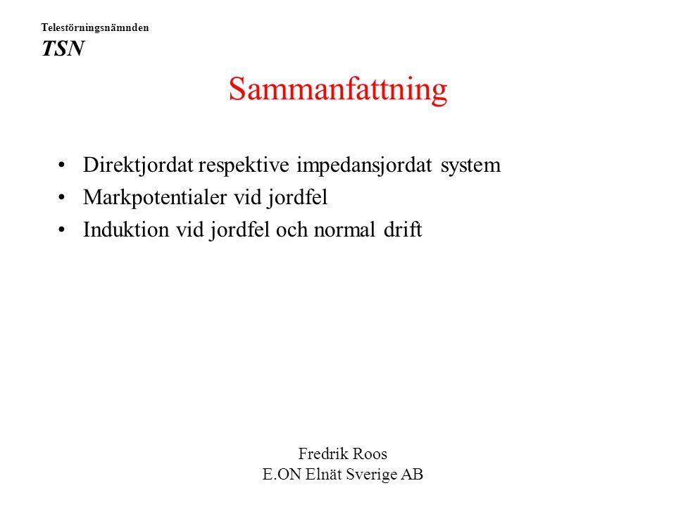 Sammanfattning Direktjordat respektive impedansjordat system