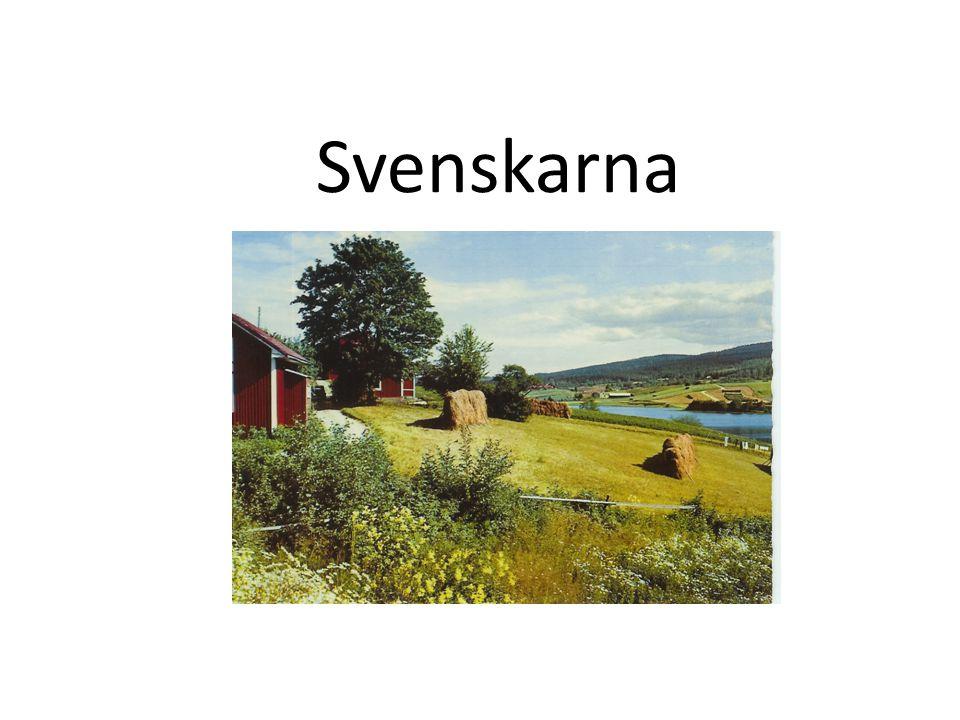 Svenskarna