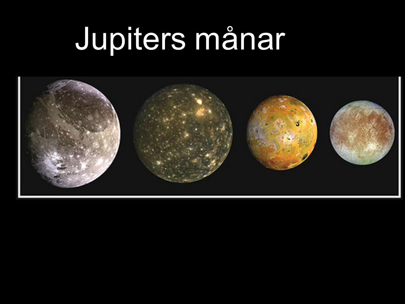 Jupiters månar