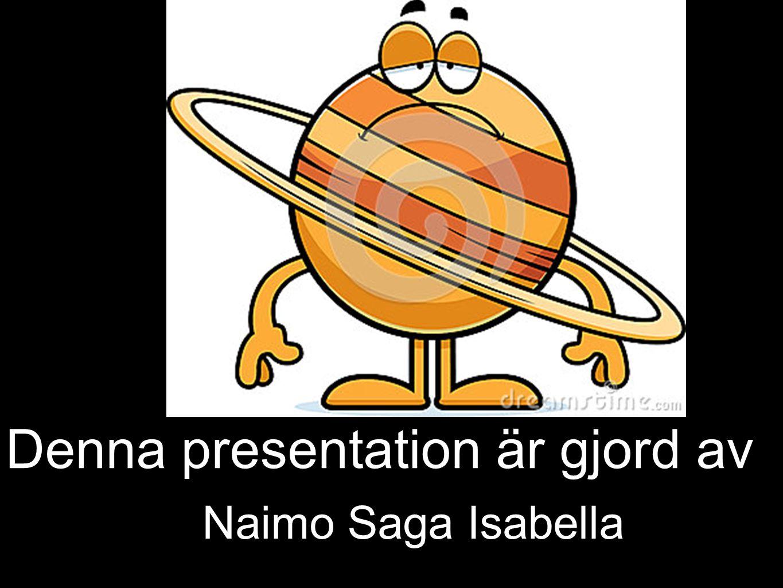 Denna presentation är gjord av