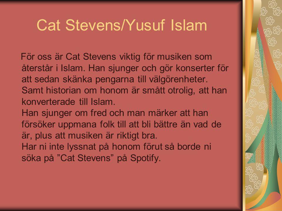 Cat Stevens/Yusuf Islam