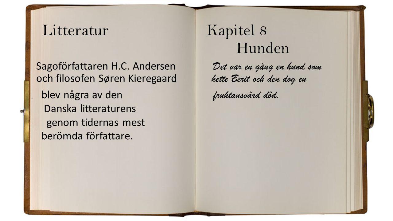 Litteratur Kapitel 8 Hunden