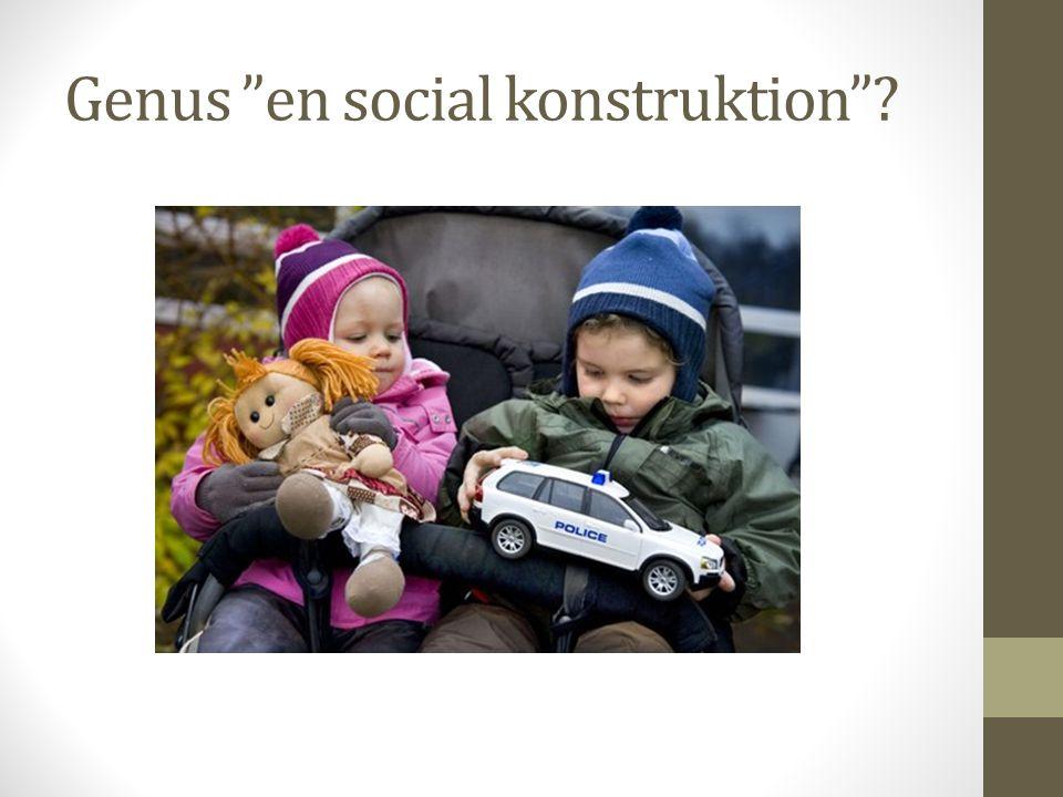 Genus en social konstruktion