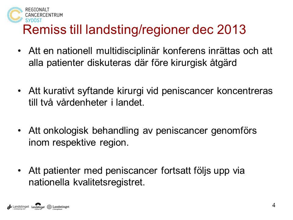 Remiss till landsting/regioner dec 2013