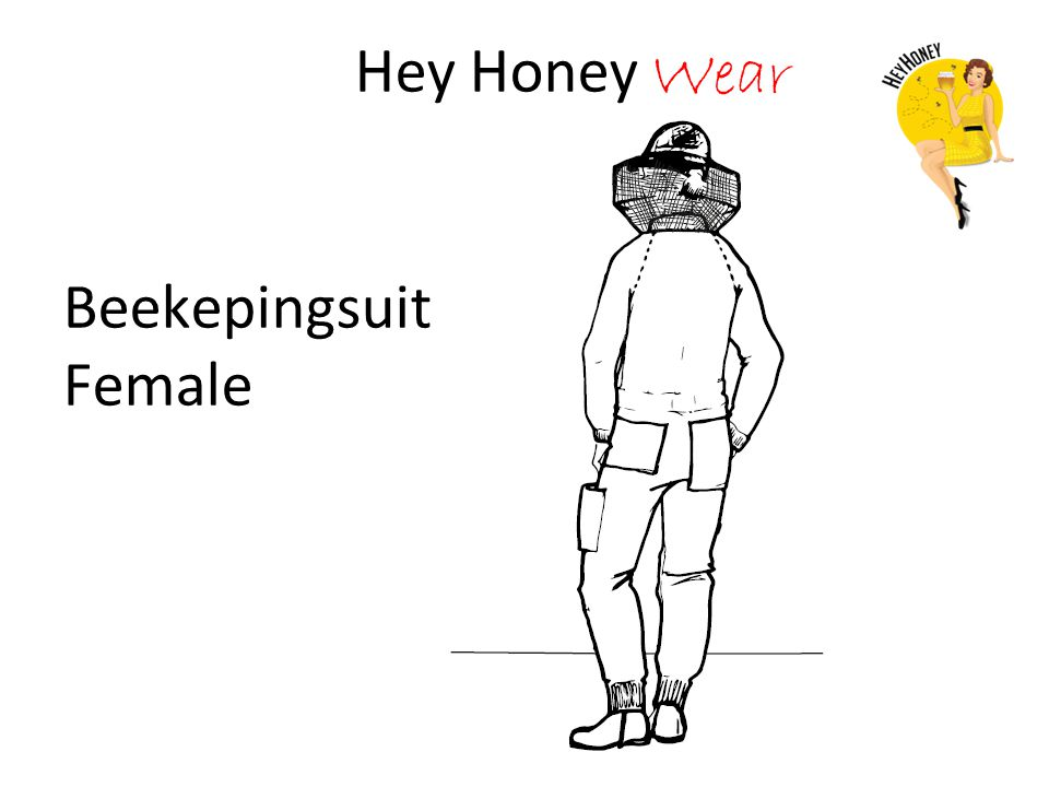 Hey Honey Wear Beekepingsuit Female