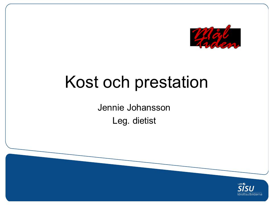 Jennie Johansson Leg. dietist