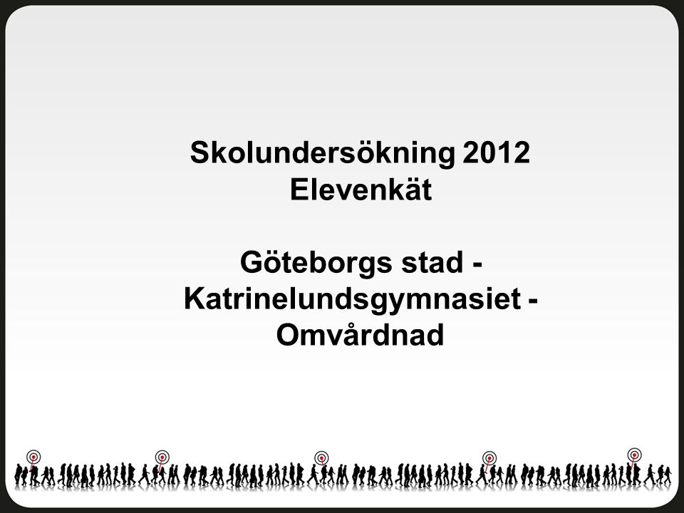 Göteborgs stad - Katrinelundsgymnasiet - Omvårdnad