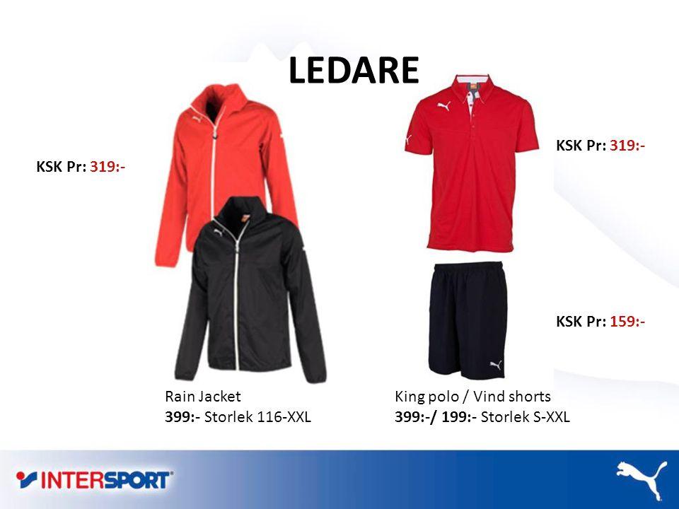 LEDARE KSK Pr: 319:- KSK Pr: 319:- KSK Pr: 159:- Rain Jacket