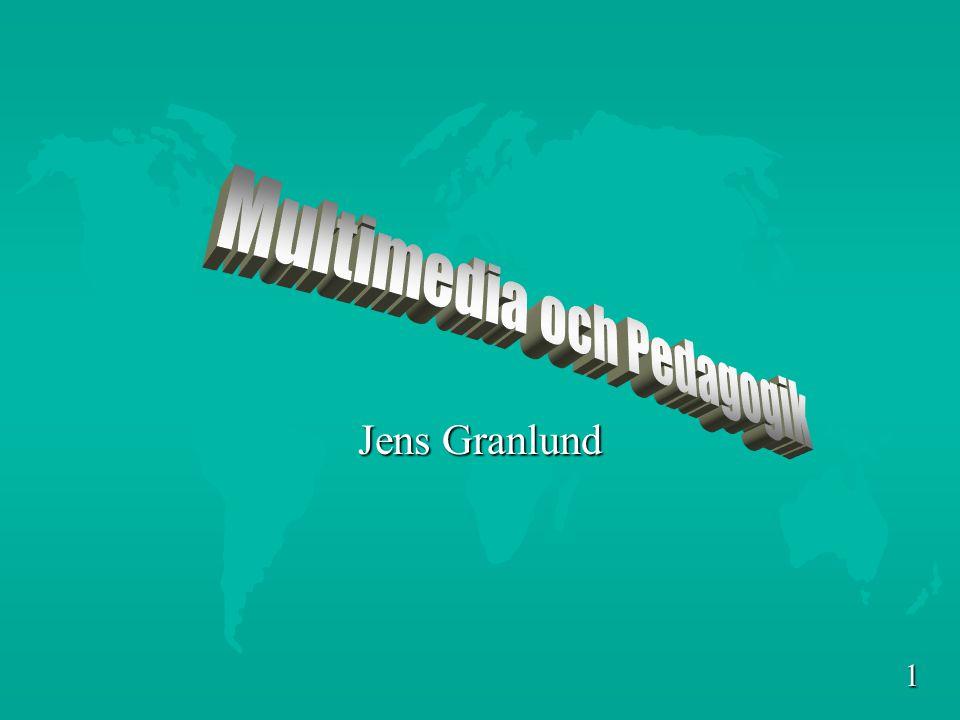 Multimedia och Pedagogik