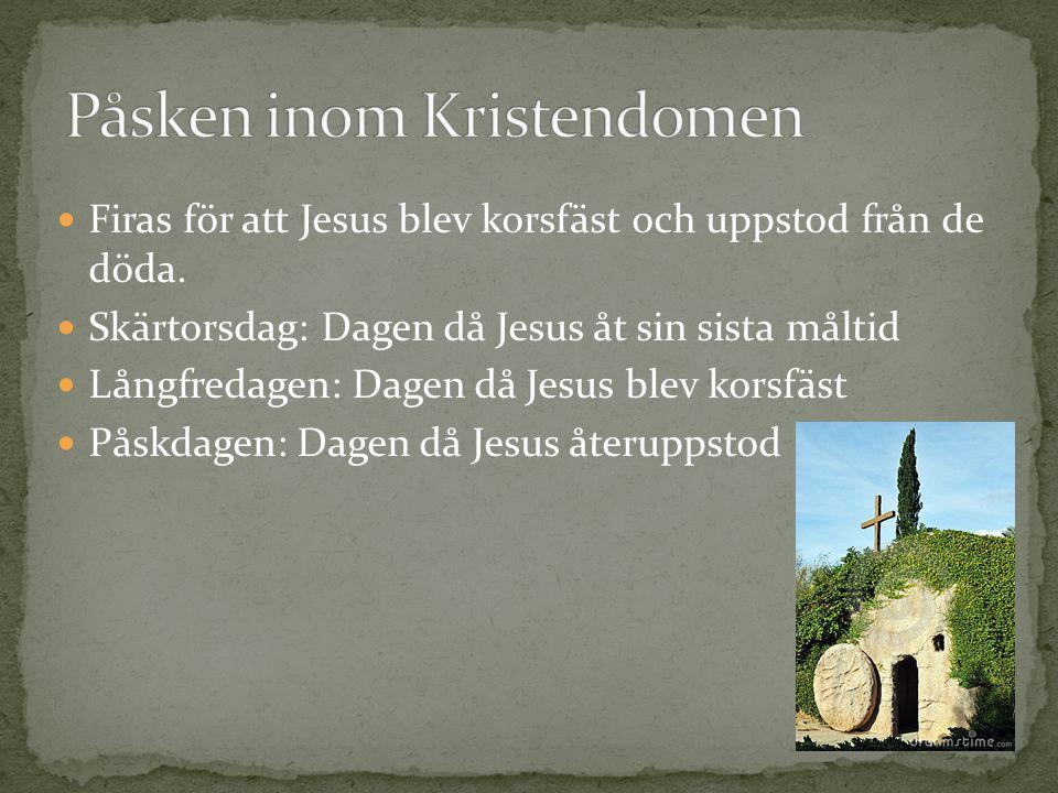 Påsken inom Kristendomen