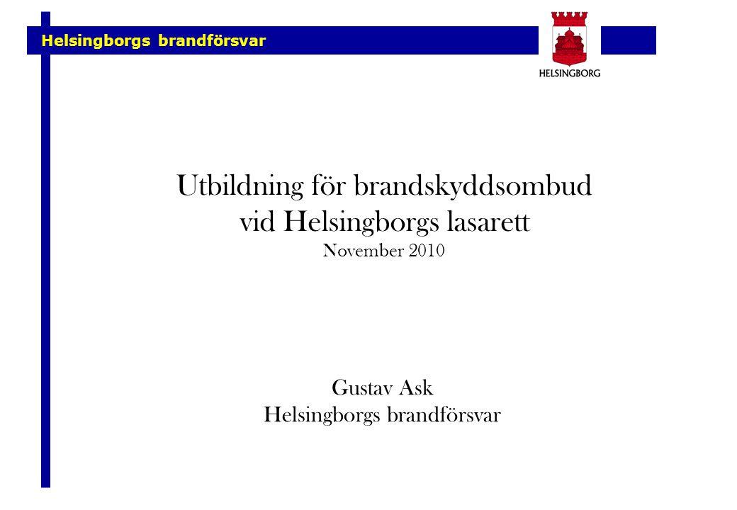 Helsingborgs brandförsvar