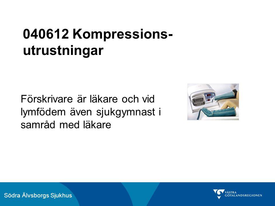 040612 Kompressions-utrustningar