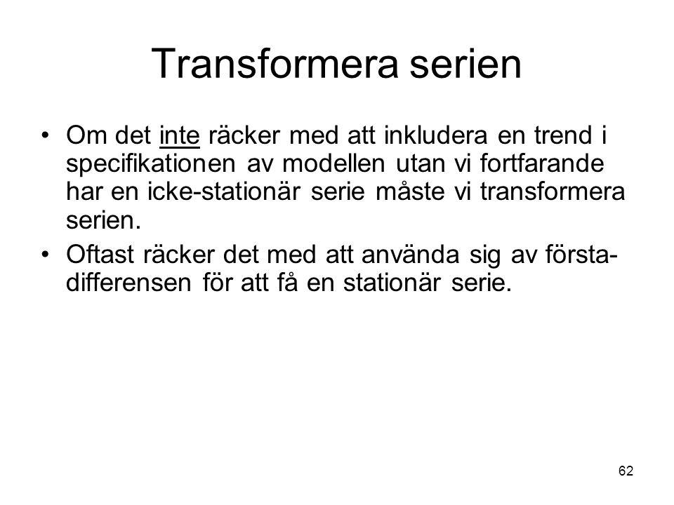 Transformera serien