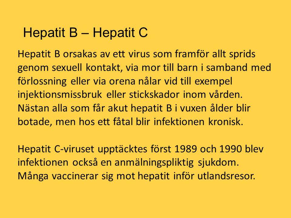 Hepatit B – Hepatit C