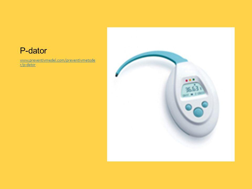 P-dator www.preventivmedel.com/preventivmetode r/p-dator