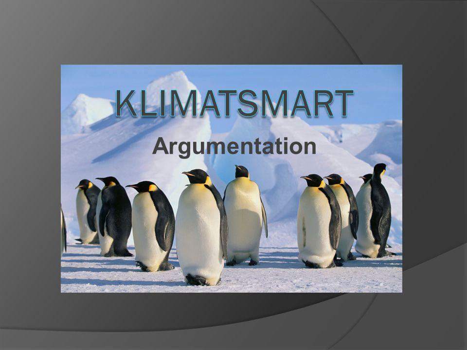 Klimatsmart Argumentation