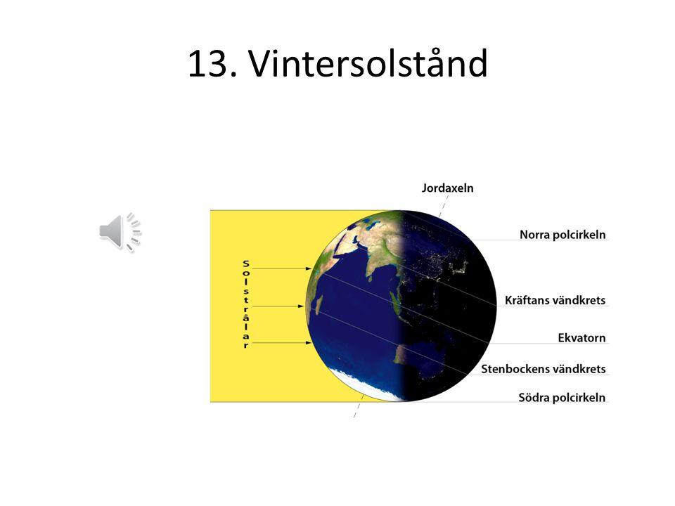 13. Vintersolstånd