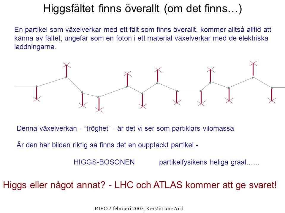 Higgsfältet finns överallt (om det finns…)