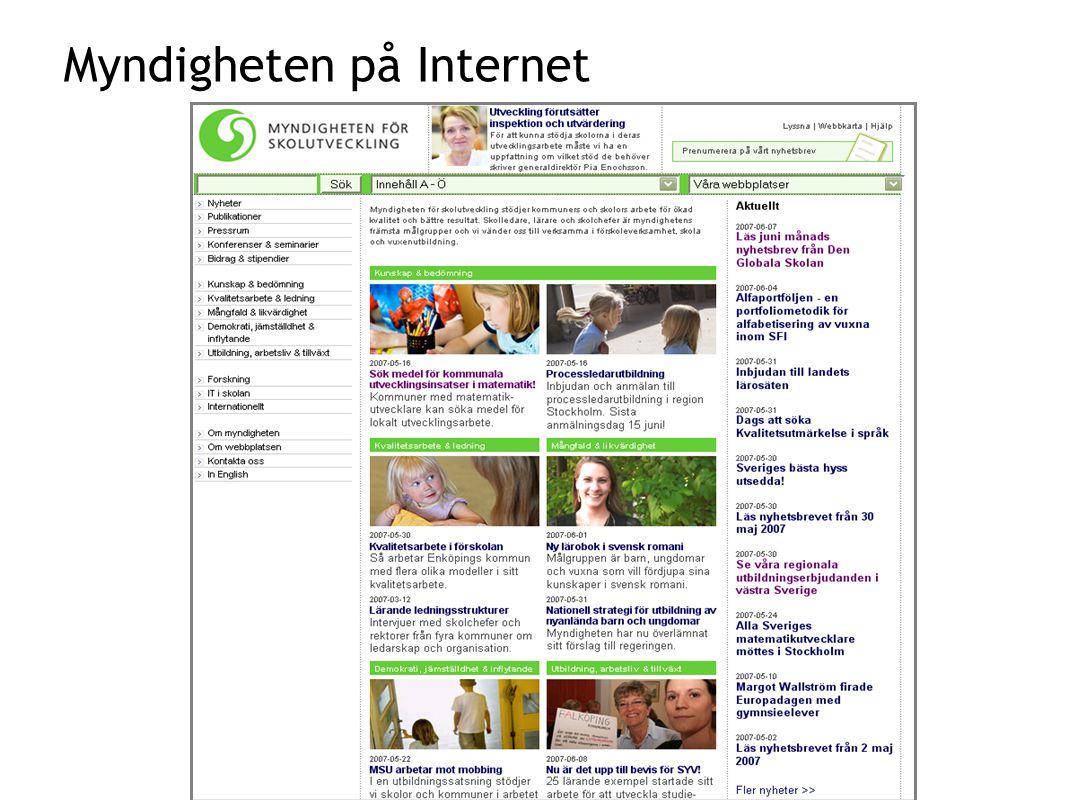 Myndigheten på Internet